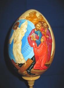 Nederdaling ter Helle en Verrijzenis van Christus – fragment