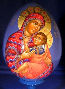 Moeder Gods van de hymne 'O Albezongene'