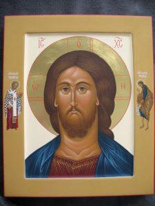 Christus Pantokrator met de uitverkoren Heiligen